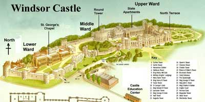Castello <br/>di Windsor