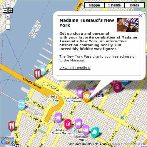 new york pass map of attractions