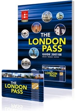 Image of the London pass and guide