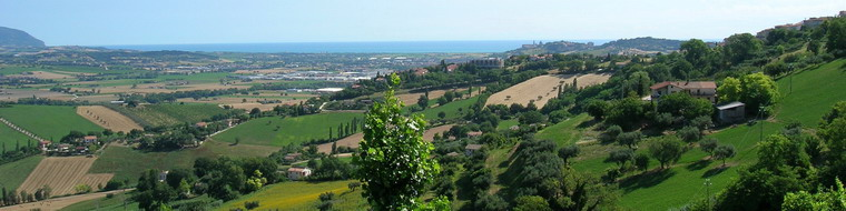 Panorama in Marche
