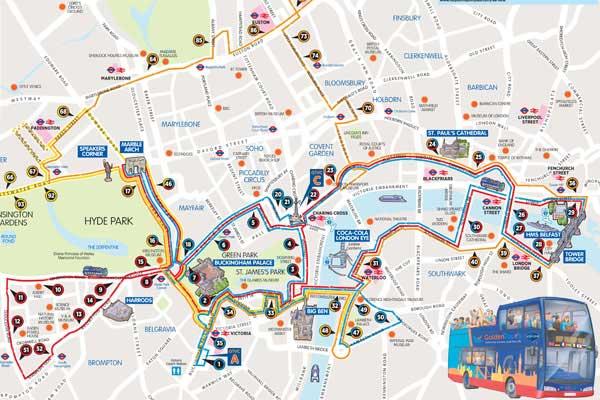 Cartina Londra Con Monumenti.London Pass 2020 Costo A Chi Conviene E Codice Sconto 50